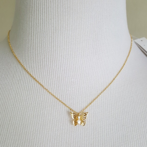 3387c406f kate spade Jewelry | New Social Butterfly Pendant Necklace | Poshmark